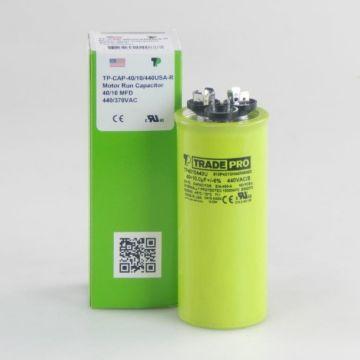 TradePro TP4010440U - 40/10 MFD 440V Round Capacitor