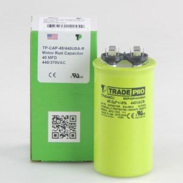 TradePro TP40440U - 40 MFD 440V Round Capacitor