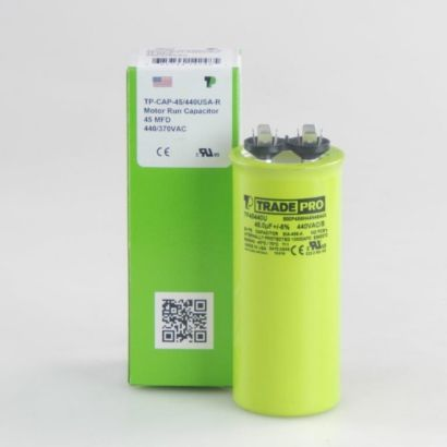 TRADEPRO® TP45440U - 45 MFD 440V Round Capacitor