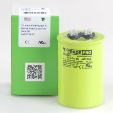 TradePro TP50440U - 50 MFD 440V Round Capacitor