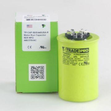 TradePro TP505440U - 50/5MFD X 440V Round Capacitor