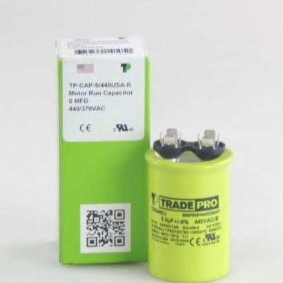 TRADEPRO® TP5440U - 5/440 MFD 440V Round Capacitor