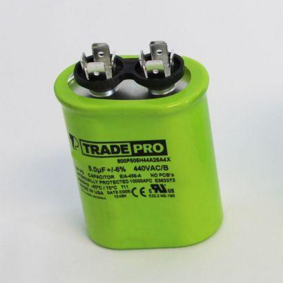TRADEPRO® TP5440UO - 5 MFD 440V Oval Capacitor