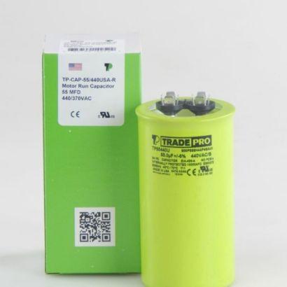 TRADEPRO® TP55440U - 55 MFD 440V Round Capacitor