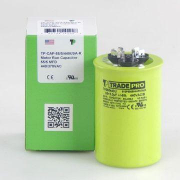 TradePro TP555440U - 55/5MFD X 440V Round Capacitor