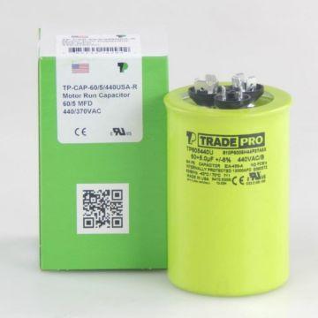 TradePro TP605440U - 60/5MFD X 44OV Round Capacitor