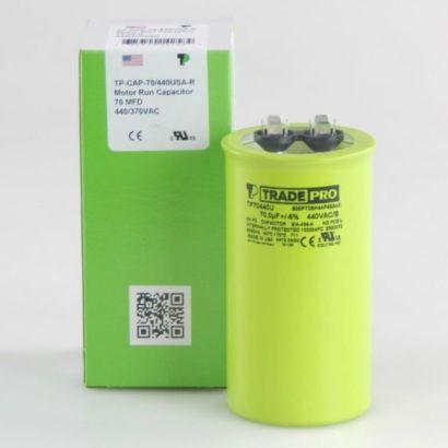 TRADEPRO® TP70440U - 70 MFD 440V Round Capacitor