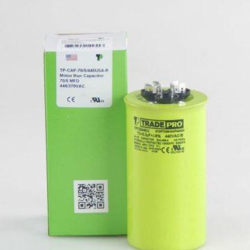 TradePro TP705440U - USA 70/5 440/370V Round Capacitor