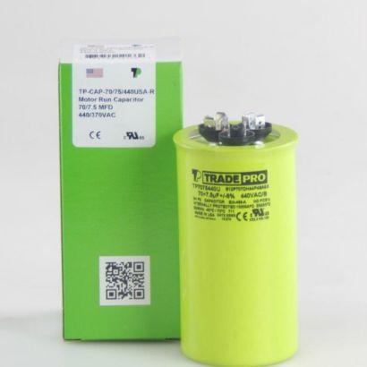 TRADEPRO® TP7075440U - 70/7.5 MFD 440V Round Capacitor