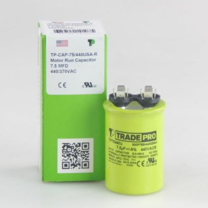 TRADEPRO® TP75440U - 7.5MFD 440V Round Capacitor