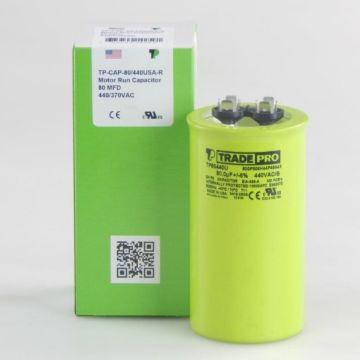 TradePro TP80440U - 80 MFD 440V Round Capacitor
