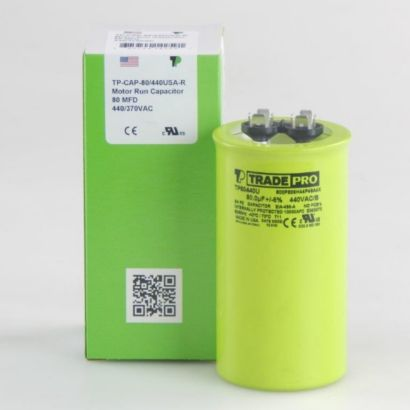 TRADEPRO® TP80440U - 80 MFD 440V Round Capacitor