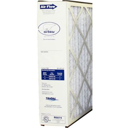 "Trion 259112-102 - Replacement Media 20"" x 25"" x 5"" MERV 11 Filter Cartridge"