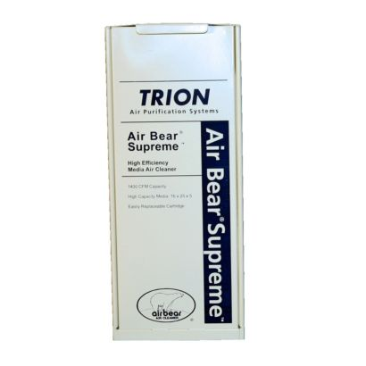 "Trion 455602-125 - Supreme Media Air Cleaner 16"" x 25"" - MERV 8"