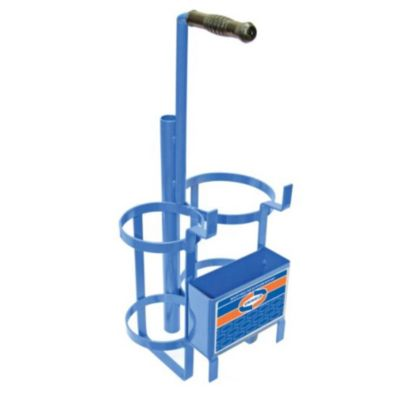 Uniweld 500S - Metal Carrying Stand for MC Tank and R-Oxygen Tank
