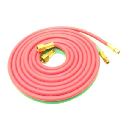 "Uniweld H32A - 12.5' Oxyacetylene Twin Hose with ""A"" Connection"