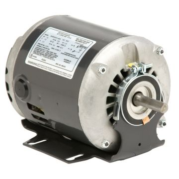 U.S. Motors 8200 - Belted Fan and Blower, 1 Phase, Split Phase, Open Drip proof (ODP), Resilient Base Mount