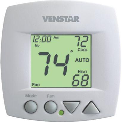 Venstar T1050 - Small Footprint 2 Heat/2 Cold 5+2 Day Programmable