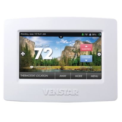 Venstar T7900 - ColorTouch Thermostat with Wi-Fi and Humidity Control