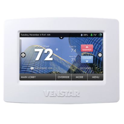 Venstar T8900 - Commercial ColorTouch Thermostat with Wi-Fi and Humidity Control