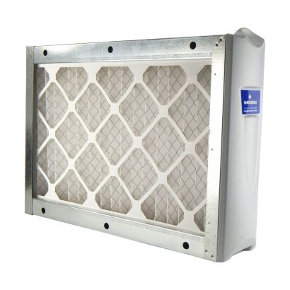 """White-Rodgers ACM1400M-108 - 16"""" x 25"""" Media Air Cleaner Cabinet with MERV 8 Filter, 1400CFM"""