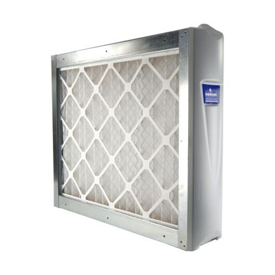 """White-Rodgers ACM2000M-108 - 20"""" x 25"""" Media Air Cleaner Cabinet with MERV 8 Filter, 2000CFM"""