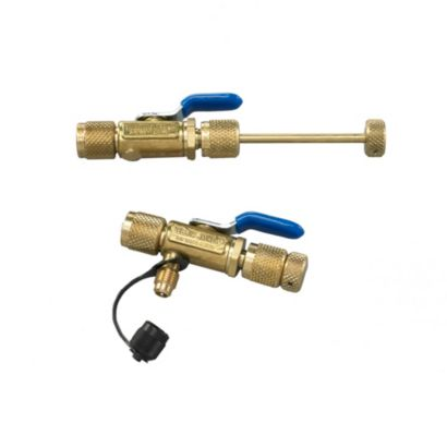 """Yellow Jacket 18975 - 1/4"""" Vacuum/Charge Valve with Side Port"""