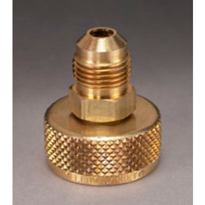 """Yellow Jacket 19106 - 3/4"""" NPS cylinder Adapter with 3/8"""" Male Flare"""