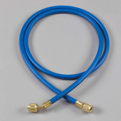 "Yellow Jacket 21325 - 25' Blue Hose HAV Standard Fitting PLUS II 1/4"" charging Hose"