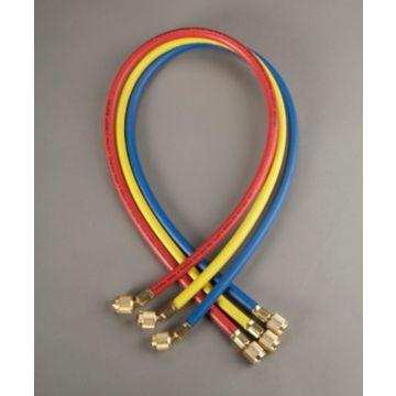 "Yellow Jacket 21983 - 36"" 3 Pack Hoses HAV Standard Fitting PLUS II 1/4"" charging Hose"