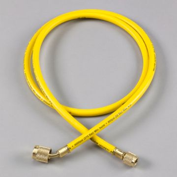 "Yellow Jacket 22048 - 48"" Yellow Hose PLUS II 1/4"" Hose with SealRight fitting"
