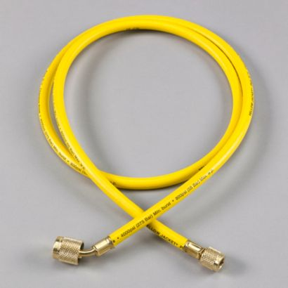 """Yellow Jacket 22048 - 48"""" Yellow Hose PLUS II 1/4"""" Hose with SealRight fitting"""