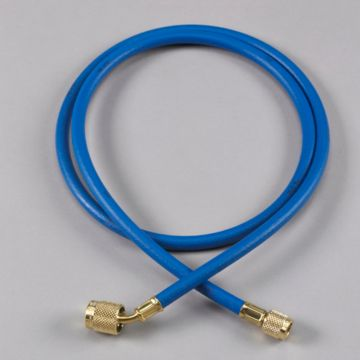 """Yellow Jacket 22260 - 60"""" Blue Hose PLUS II 1/4"""" Hose with SealRight fitting"""