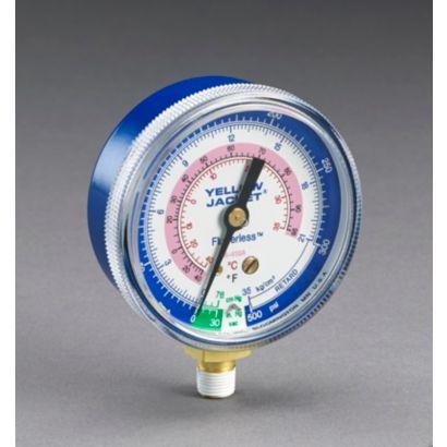 "Yellow Jacket 49036 - 2 1/2"" Ga. Blue Compound kg/cm 2 & psi R410A"