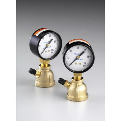 "Yellow Jacket 78085 - 2 Test unit 0-30 lb. Ga. 1"" pipe"